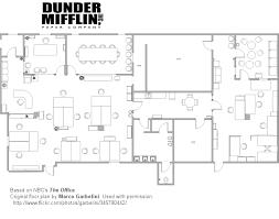 dunder mifflin floor plan the office scranton pre merger purposegames
