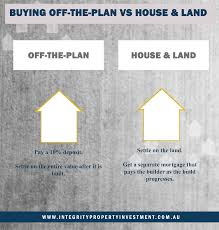 build in stages house plans the difference between house and land and off the plan