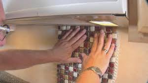 backsplash simple how to install a backsplash in a kitchen