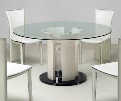 glass cylinder table l inch round pedestal dining table with the design of carving 60