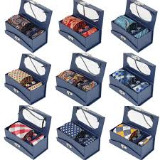 gift box for tie rbocott mens tie set with gift box classic silk jacquard woven men