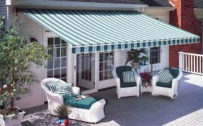 Striped Awning Awnings Sun Screen Shades Security Shutters Awnings San Diego