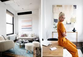 Tour An Organic Modern Chicago by Tour Karlie Kloss U0027 Boss Office U2013 Homepolish
