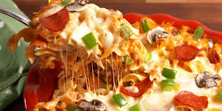 California Pizza Kitchen Tostada Pizza How To Make Cheesy Noodle Pizza Delish