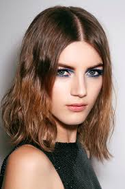 hairstyles with bangs and middle part 10 low maintenance lob length cuts we love stylecaster