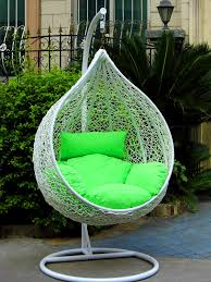 Hanging Chair Outdoor Furniture Bedroom Interesting Hanging Chair Outdoor Wicker Egg Rattan