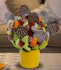edible attangements easter blossom edible arrangement in henniker nh hollyhock flowers