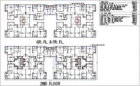 floor plan area calculator plan design view of apartment with plot area calculation dwg file