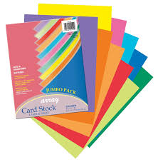 pacon card stock 8 1 2 inches by 11 inches colorful