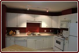 Kitchen Cabinet Latest Red Kitchen Stunning White Kitchen Cabinets Red Walls U Quicuacom Pic For
