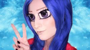 anime huge eyes makeup transformation tutorial pt 1 youtube