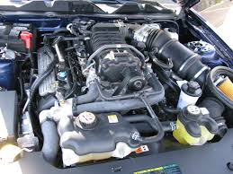 Ford Shelby Gt500 Engine 2010 Ford Mustang The Crittenden Automotive Library