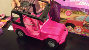 Barbie Pink Passport Jeep Youtube