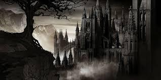 halloween raven background castlevania fantasy dark vampire dracula adventure action platform