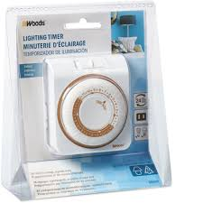 Woods Plug In Timers Dimmers by Woods 1 Outlet Daily Timer Timers Dimmers U0026 Timers Rough