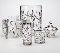 12 bella lux crystal bathroom accessories bella lux crystal