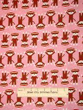 Sock Monkey Fabric Sock Monkey Fabric Ebay