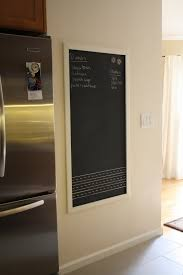 nicole at home magnetic blackboard for the kitchen