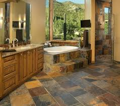slate bathroom ideas rustic slate bathroom floor flooring ideas floor design trends