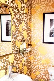 Powder Room Wallpaper by Design Manifest Dm Project Powder Room Before And After Asuka
