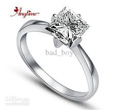 silver diamond rings 2014 square ring 925 silver swiss diamond ring women s diamond