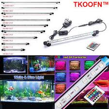 color changing led fish tank lights rgb color changing led aquarium fish tank lighting bar submersible