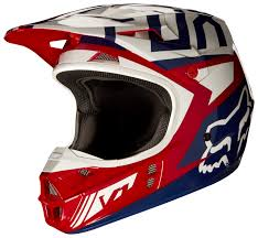 vintage motocross helmet fox racing v1 falcon helmet cycle gear