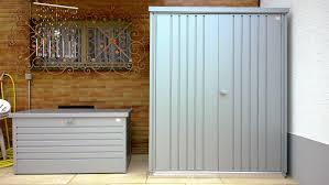 armadio da esterno in alluminio biohort armadio per attrezzi armadio portattrezzi di grande valore