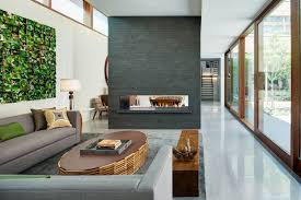 residential design inspiration modern central fireplaces studio