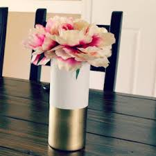 Gold Plastic Flower Vases 100 Dollar Store Diy Home Decor Ideas Prudent Penny Pincher