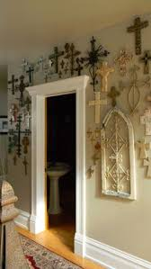 Satanic Home Decor Like The Boxes But The Crosses On The Wall Better Organizing With