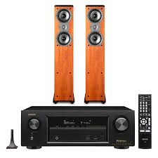 best 7 2 home theater speakers denon avr x1300w 7 2 channel receiver with polk tsi300 tower