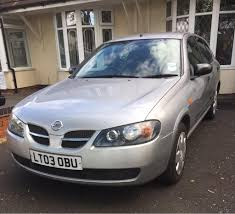 nissan almera diesel engine nissan almera 2003 very nice car bargain in walsall west