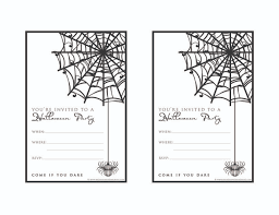 free printable halloween party invitations theruntime com