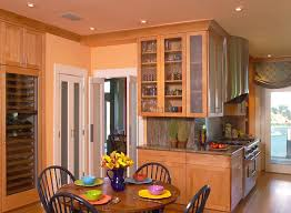 colored walls 6 the kitchens warm maple cabinet and salmon colored walls linda