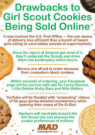 cookies online drawbacks to girl scout cookies being sold online mad magazine