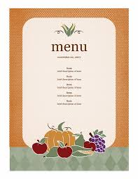 menu templates 21 free free restaurant menu templates word excel formats
