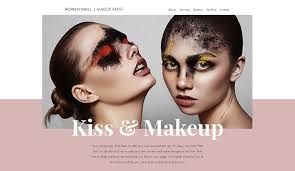 makeup artists websites makeup artist website templates desorium