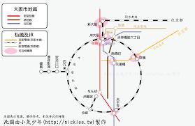 大阪往返京都的交通路線 u2013 小氣少年的部落格
