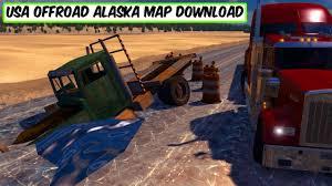 Alaska Map Usa by Usa Offroad Alaska Map Download Ats Youtube