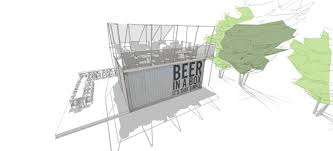 beerbox sketchup model v2 scene 2 container drawings floor