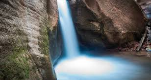 Utah waterfalls images Kanarra creek canyon hiking trail