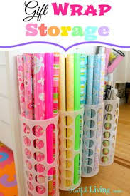gift wrap storage ideas 25 simple ways to tackle the messiest chore of the holidays gift