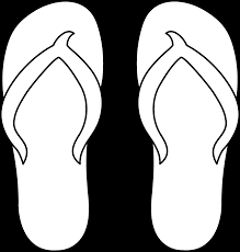 colorable flip flops for gr 5 one shoe for elem the
