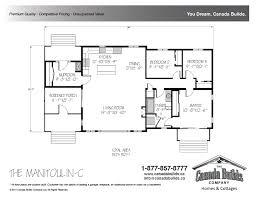 bungalow floor plans bungalow canada builds custom modular homes ontario