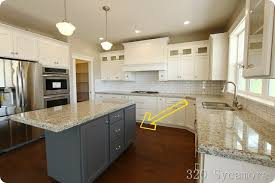 kitchen island different color than cabinets different color cabinets in kitchen modern house