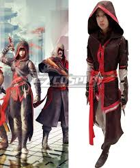 Assassins Creed Halloween Costumes Creed Chronicles China Shao Jun Cosplay Costume