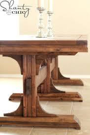 Rustic Farmhouse Dining Tables Diy Wood Dining Table Top Diy Farmhouse Dining Table With