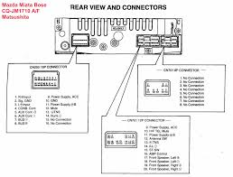 mazda maker mazda car radio stereo audio wiring diagram autoradio connector