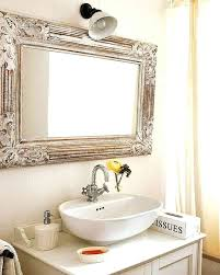 mirrors framing mirrors ideas bathroom mirrors wood frame
